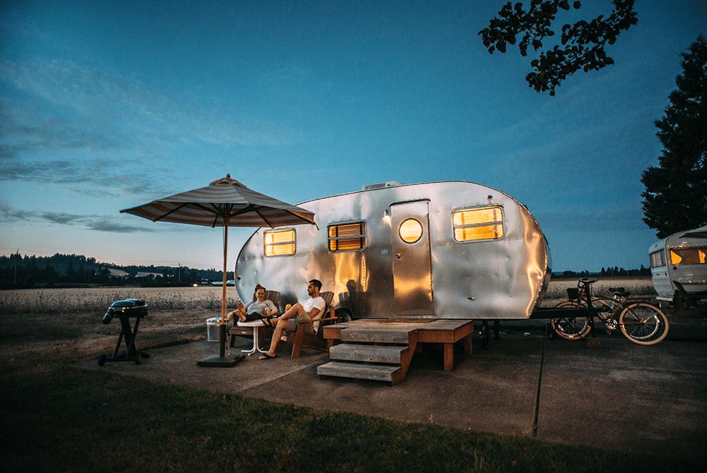 Caravan vakantie